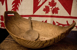 First Nations Burl Bowl