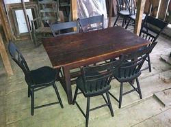 LANARK TABLE & NOVA SCOTIA CHAIRS