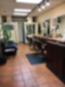interior view of Shear Perfection Hair Salon in Berkeley CA