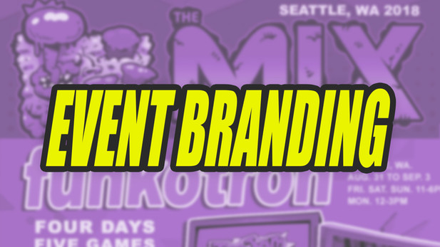 Indie Game Event Branding
