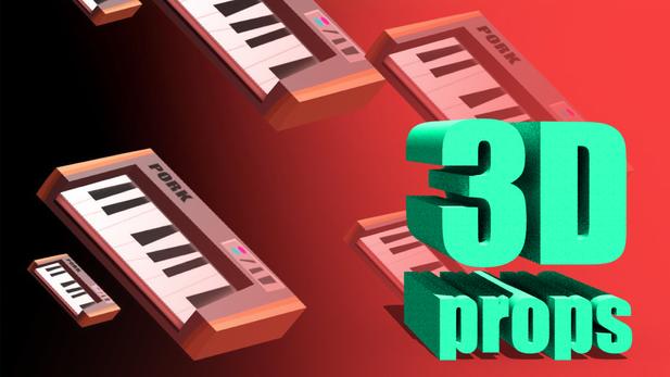 Assorted 3D Props