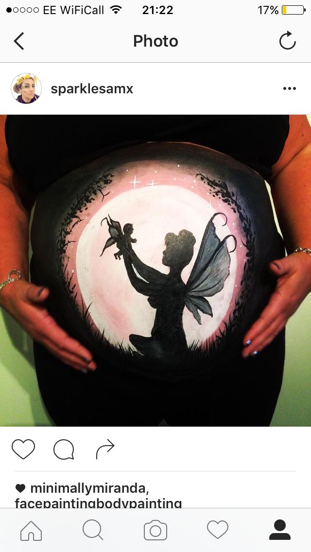 Julie Fain Art Inspired Bump