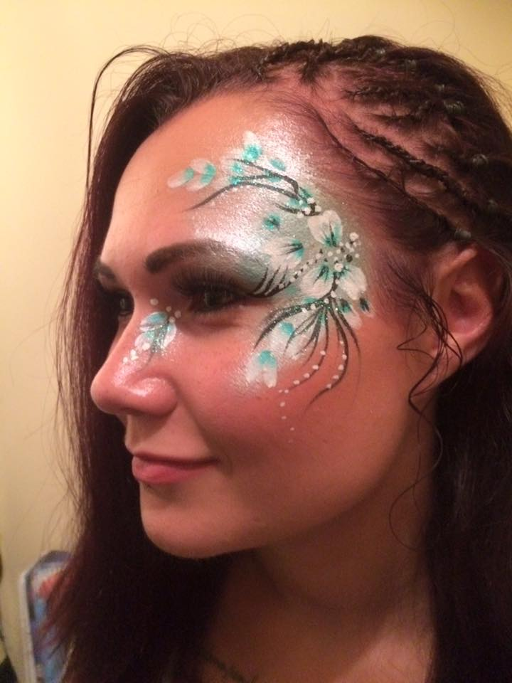 facepainting, Huddersfield, Make Up,