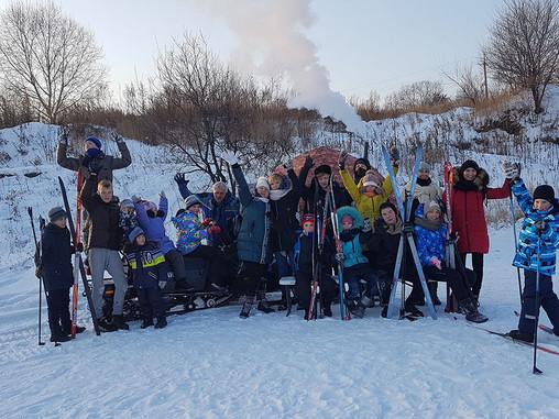 На лыжах в лес бегом марш!