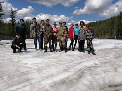 Моя туристская семья_Турянский_На ледник