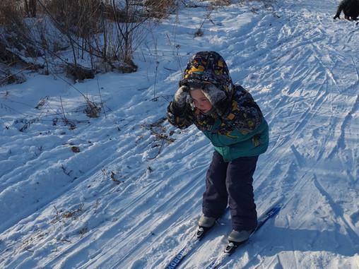 Лыжная тренировка