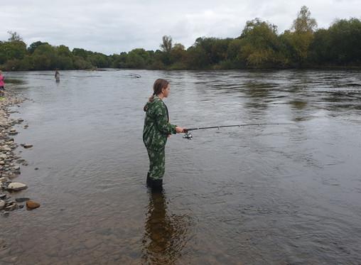 Рыбалка на реке Хор