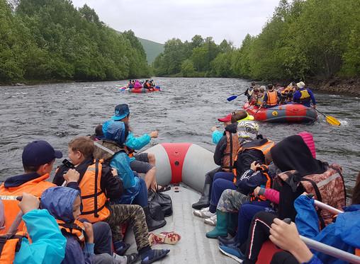 Путешествие по рекам края