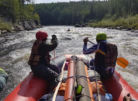 Водное путешествие по реке Тырма