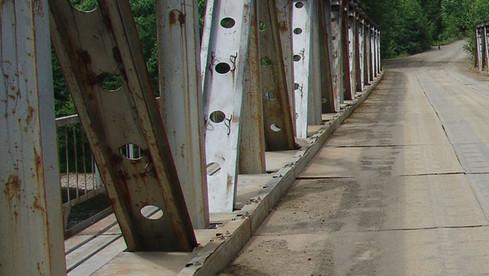 Мост через Катэн к п.Солонцовый
