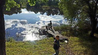 Бегун Андрей_Рыбалка с братом на реке Ки