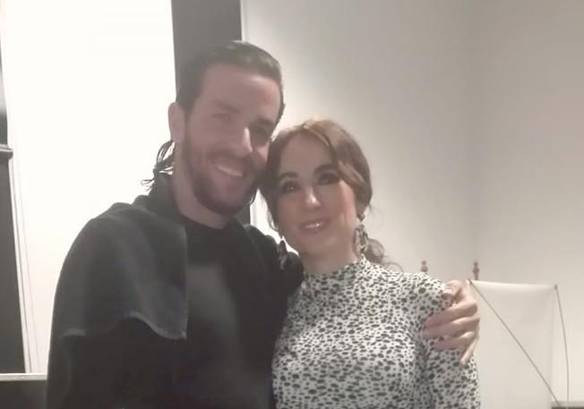 Con Alejandro Rodríguez