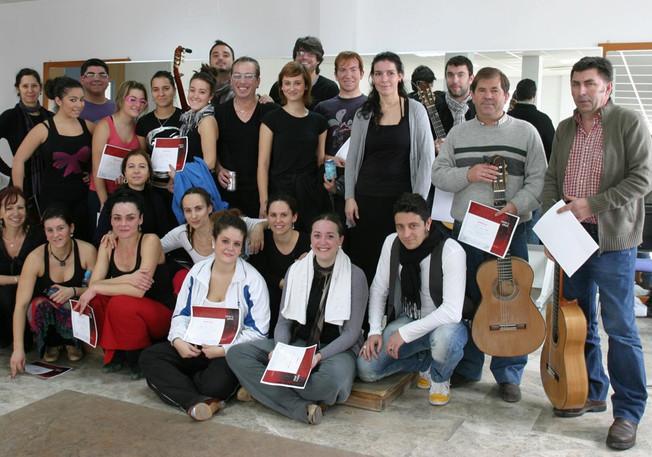 """Seminario Flamenco """"Tacón y Jaleos"""" 2011"""
