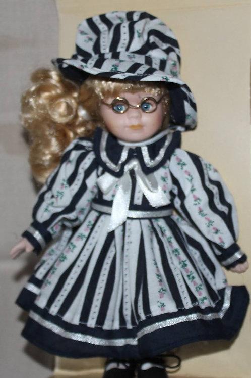 Irish Doll in Black and White