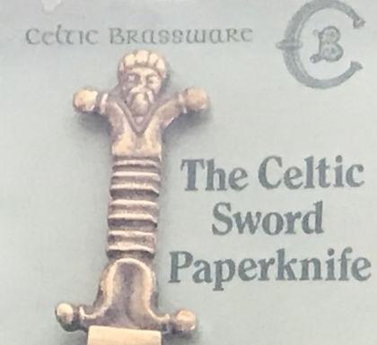 The Celtic Sword Paperknife
