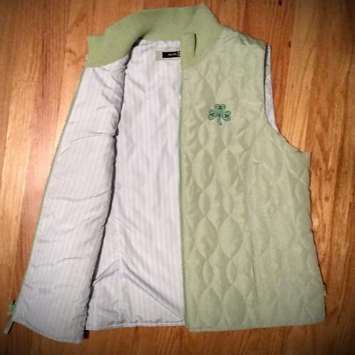 Light Green Shamrock Vest