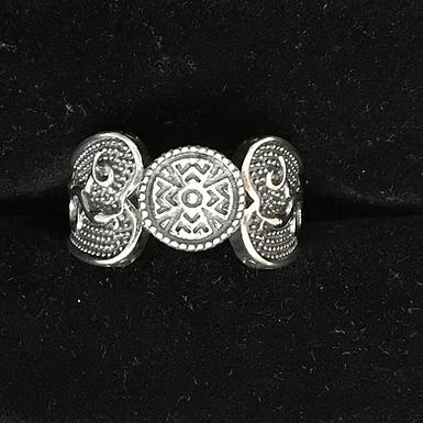 Sterling Silver Celtic Symbol Ring