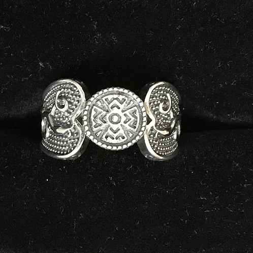 Sterling Silver Celtic Symbol Ring