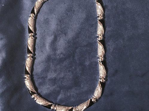 Greta Garbo Newbridge Silverware Necklace