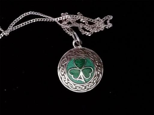 Shamrock Medallion Pendant