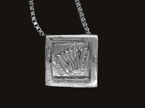 Sterling Silver Accordion Pendant