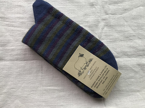100% Pure New Wool from Organically Farmed Sheep