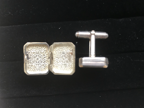 Silver Locket Cufflinks
