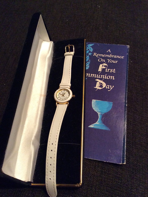First Communion Watch with Chalice made in Ireland