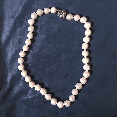 Grace Kelly Pearl Necklace