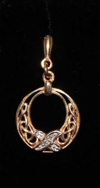 Gold Celtic Knot Earrings