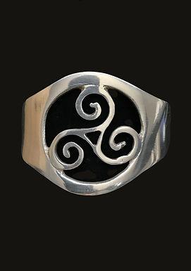 Irish Symbol Cuff Bangle