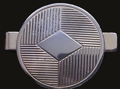 Celtic Shield Tie Clip sterling