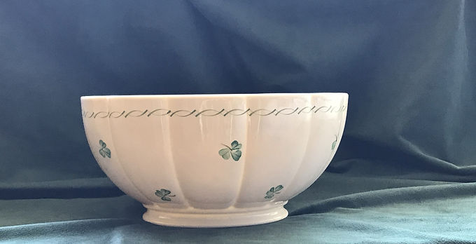 "Belleek Emerald Isle 11"" Bowl"