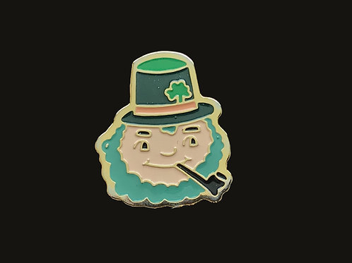 Luck Leprechaun Souvenir Pin