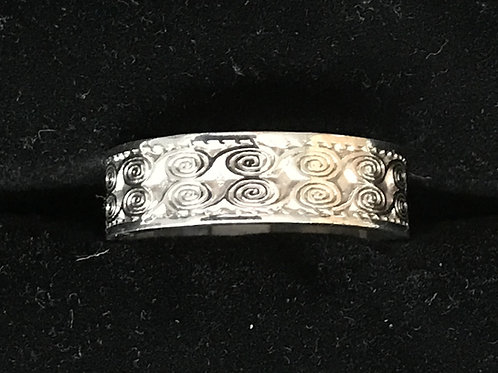 Sterling Silver Celtic Circle Ring
