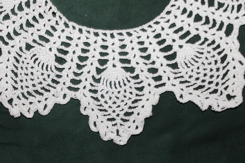 Scottish Thistle Crochet Collar