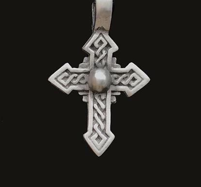 Celtic Cross Fine Pewter Pendant