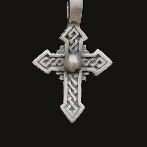 Celtic Cross Fine Pewter Pendant