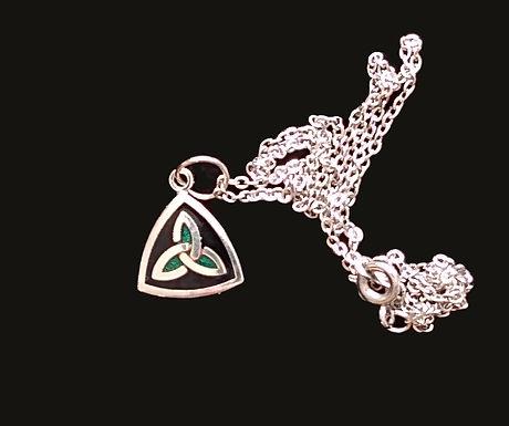 Amethyst of Dublin Trinity Knot Pendant