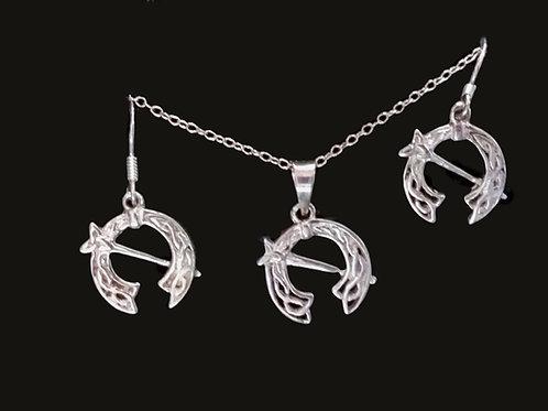 Tara Brooch Earrings and Pendant