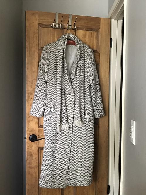 Full Length Women's Wool Coat Brannigan Weavers