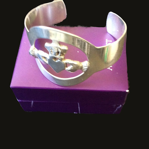Claddagh Bangle Bracelet