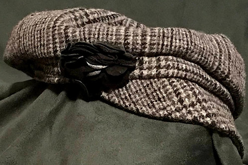 Newsboy Wool Cap