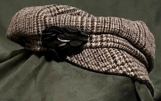 Newsboy Wool Cap