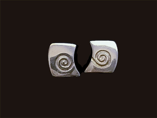 Celtic Circles Stud Earrings