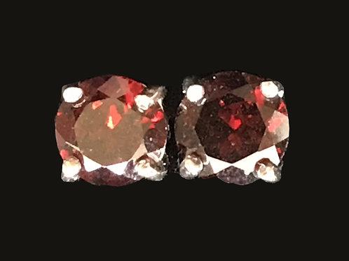 Red Swarovski Crystral Earring