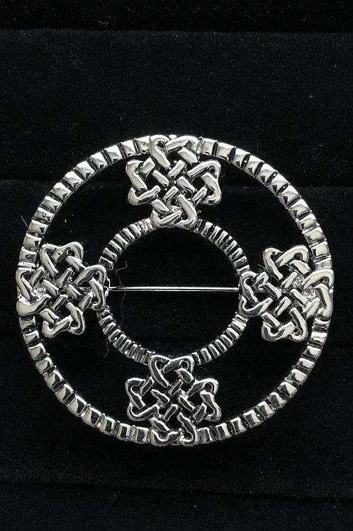 Celtic Knot Design Brooch