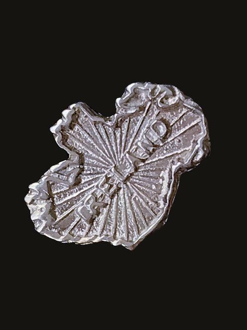 Ireland Tie Tac sterling  silver