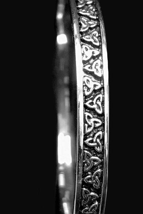 Silver Baby Trinity Knot Bracelet