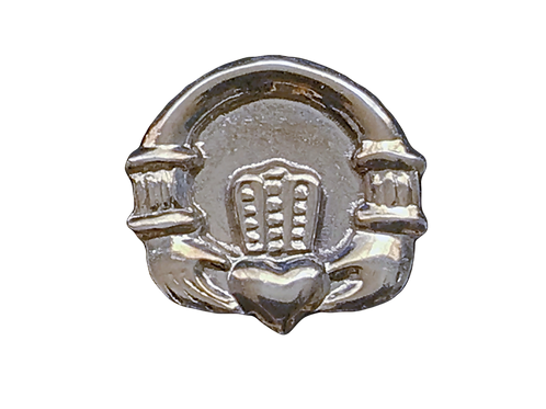 Claddagh Tie Pin sterling silver